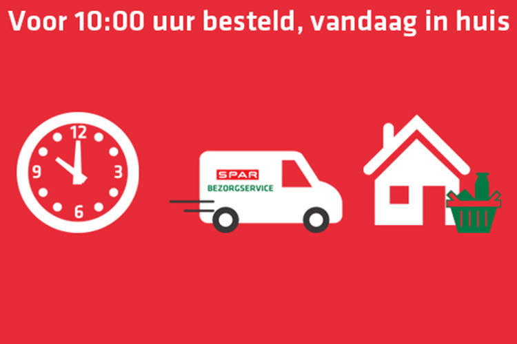 Spar Netherlands Now Offer Same Day Delivery Service For