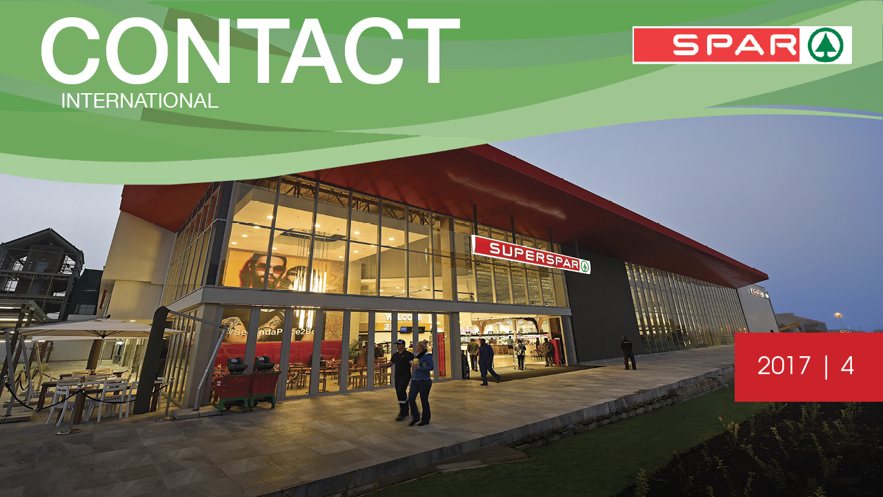 Latest SPAR Contact International magazine