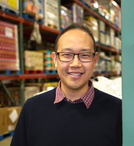 Chieh Huang,CEO of Boxed.com
